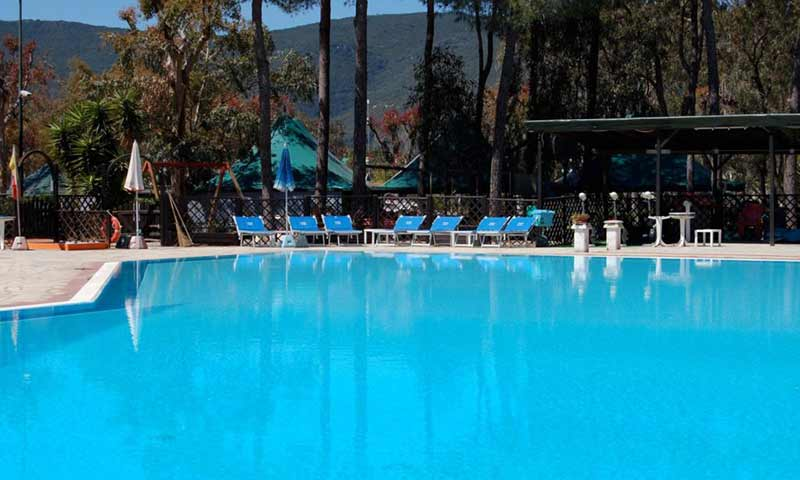 Insel Elba Campingplatz Lacona